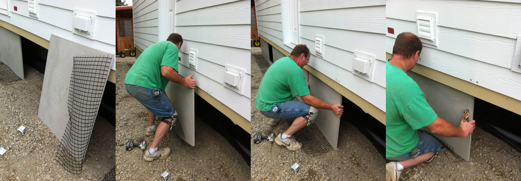 Duraskirt The Best Ideas For Skirting Your Manufactured Home