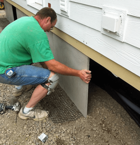 Photos Duraskirt Skirting For Manufactured Amp Mobile Homes