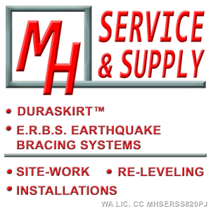 MH Service and Supply - mobile home underpinning