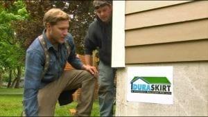 Zack Griffin - Duraskirt™ Mobile Home Skirting Installation