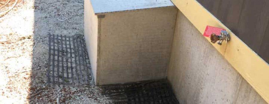 concrete skirting