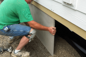 DURASKIRT™ mobile home skirting