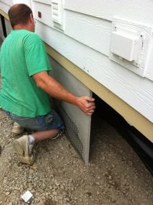 the very best mobile home skirting