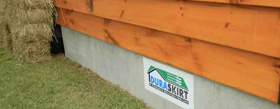 Shed Skirting - What to Put Around the Bottom of Your Shed